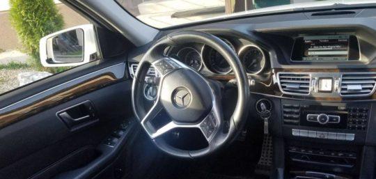 Mercedes E класс W212 салон