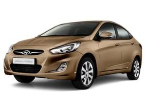 Аренда автомобиля Hyundai Solaris AT (бежевый)