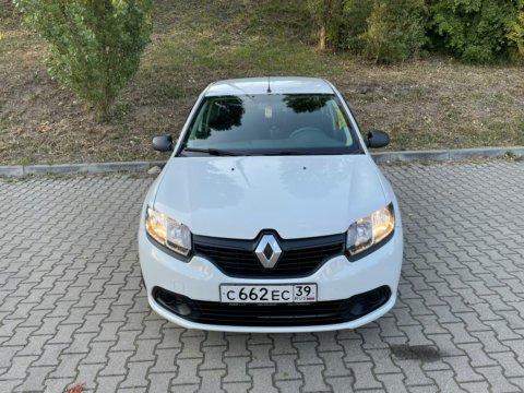 Аренда автомобиля Renault Logan