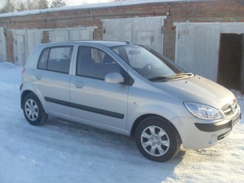 Hyundai Getz AT прокат