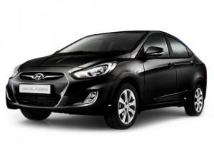 Аренда автомобиля Hyundai Solaris AT (черный)