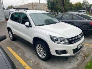 Аренда автомобиля Volkswagen Tiguan